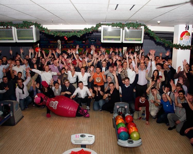 Firmenfeier im American Bowl Berlin