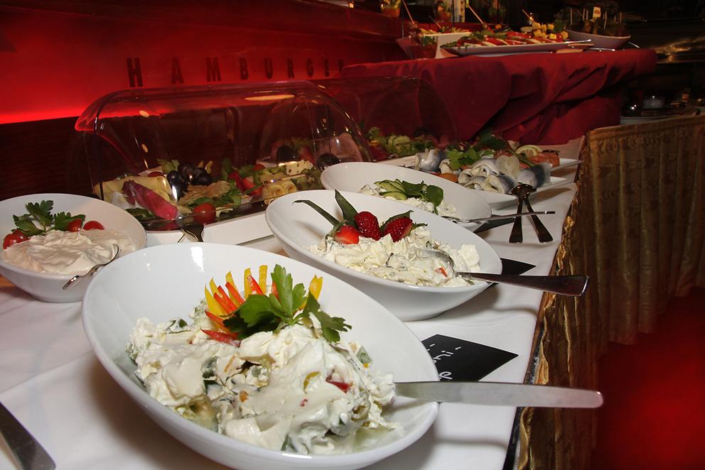 Buffet American Bowl Berlin