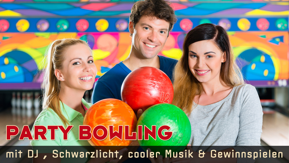 American Bowl - Bowling in Berlin - BOWLINGSPASS, FOOD & DRINKS & SPORTEVENTS -auf 18 leuchtenden und top gepflegten Bowlingbahnen.