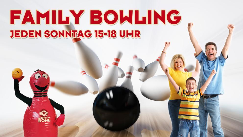 Family. Bowling im American Bowl Berlin