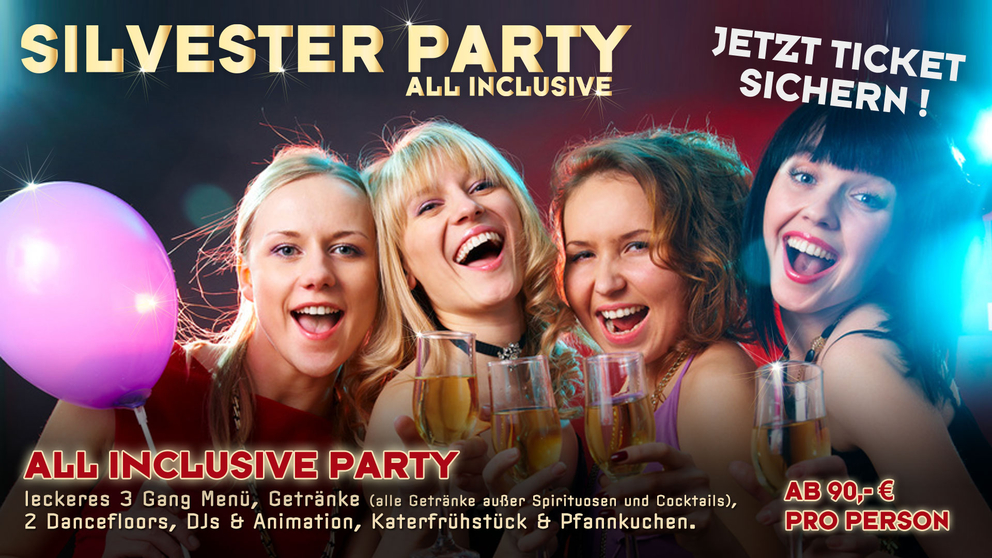Silvesterparty im American Bowl