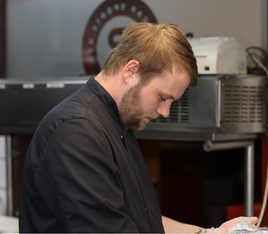 Philip in the kitchen